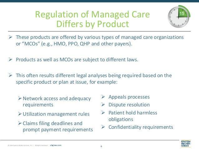 Managed Care and Behavioral Health - Behavioral Health ...