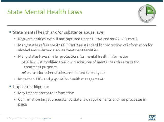 Privacy And Behavioral Health Much More Than Hipaa Behavioral Heal