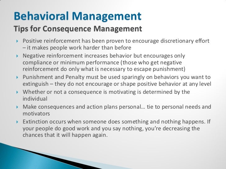 behavioral management theory Behavioural theory 1 uts 2  the behavioural theory is a perspective on management that emphasises the importance of attempting to understand the various factors that affect human behaviour in organisations the employees behavior was not affected by job conditions alone, there were.