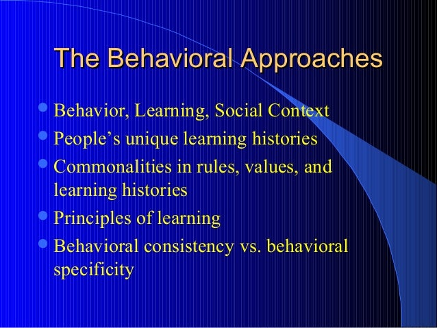 behavioral and cognitive learning 2 The cognitive learning theory explains why the brain is the most incredible network of information processing and interpretation in the body as we learn things this theory can be divided into two specific theories: the social cognitive theory (sct), and the cognitive behavioral theory (cbt.