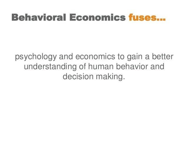 Behavioral economics in 22 slides - showing that we are irrational Slide 2