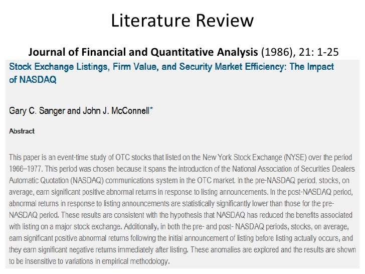 literature review behavioral finance theory The previous narrative risk perception literature review by ricciardi (2004)   theories, concepts, and themes from the earlier narrative literature.