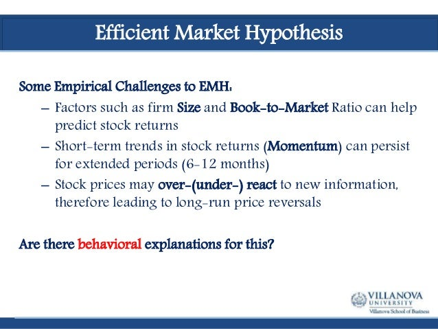 Behavioral Finance: Background