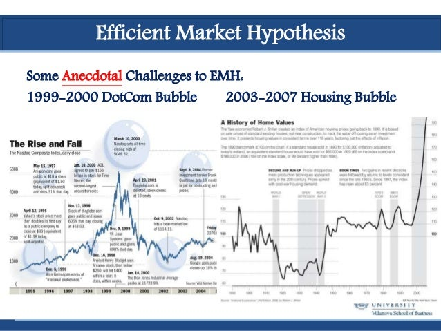 empirical challenges of the efficient market Efficient market hypothesis (emh  in weekly price series of 21 listed nigerian firms from 1977 to 1979 and provided empirical evidence that the market was .