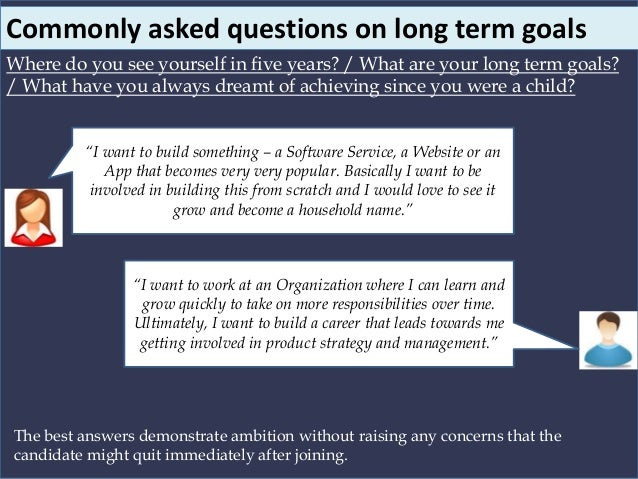 Commonly Asked Questions On Weaknesses And Failures; 7.