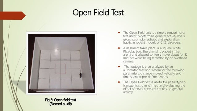 OPEN FIELD TEST MICE EBOOK