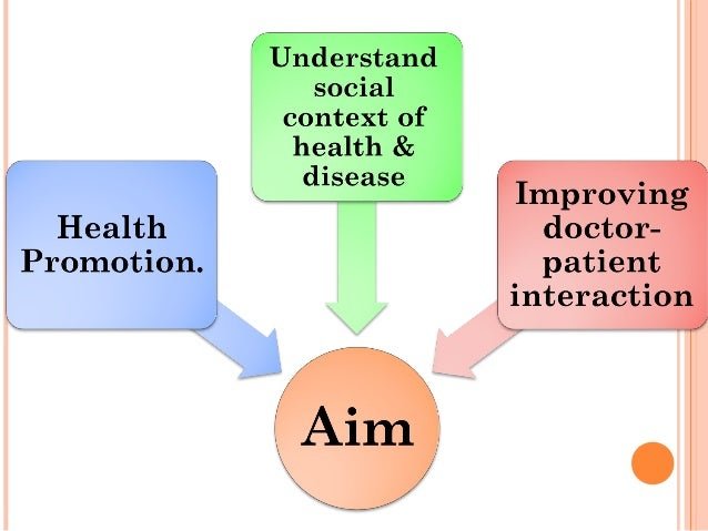 HEALTH PROBLEM  May take many different components, therefore it may be viewed in the form of.