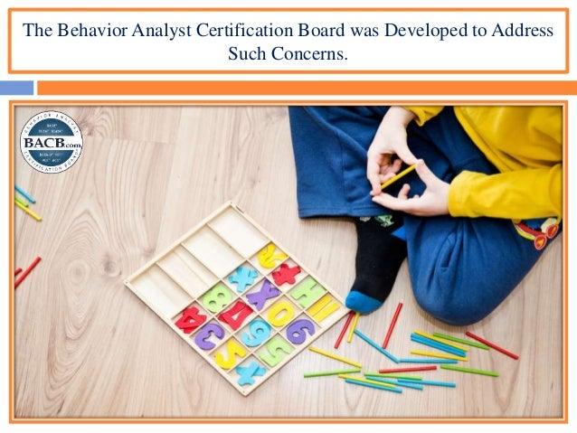 analyst certification behavior board