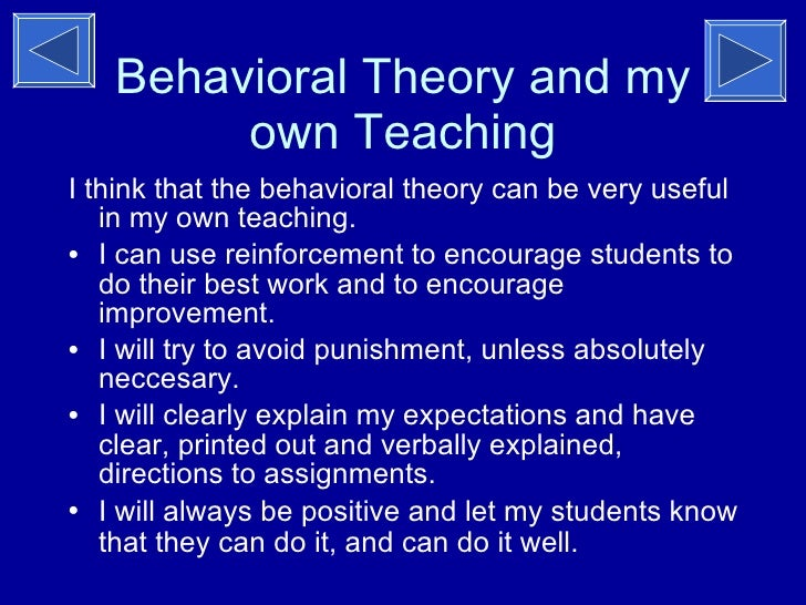 a summary of the reinforcement theory A look at bf skinner's behavioural theory, operant conditioning, and how it relates to guiding the behaviour of children through the use of positive and negative reinforcement techniques.