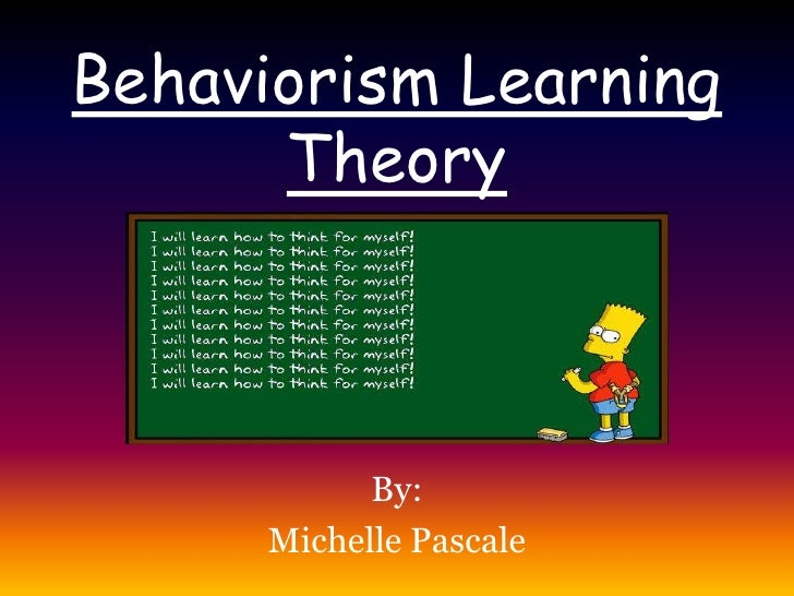 essay on behavioral theory