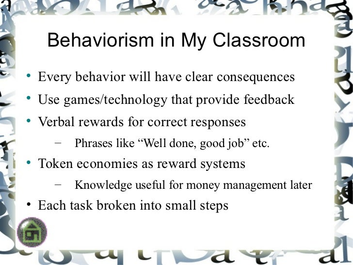 behaviorism and tantrums Behavior modification in children with temper tantrums by kay ireland, demand media avoid reacting to your child's tantrum, which could reinforce the behavior.