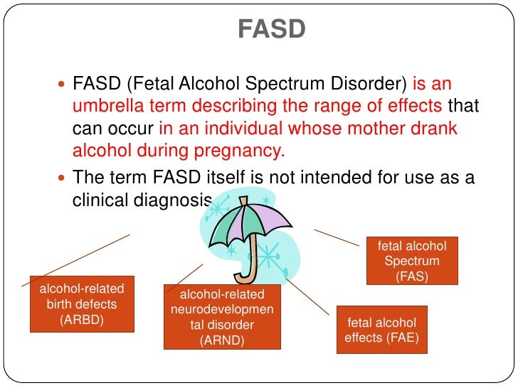 an introduction to the issue of fetal alcohol syndrome Any drinking during pregnancy increases the odds of fetal alcohol syndrome, but the risk to the fetus is highest if a pregnant woman drinks during the second half of her first trimester of pregnancy, a new study finds for every one drink per day increase in alcohol intake during that crucial period.