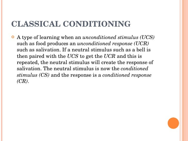 classical conditioning and instrumental conditioning Instrumental conditioning basic terms and procedure thorndike's puzzlebox experiments instrumental or operant conditioning was first studied experimentally by edward l thorndike in what.