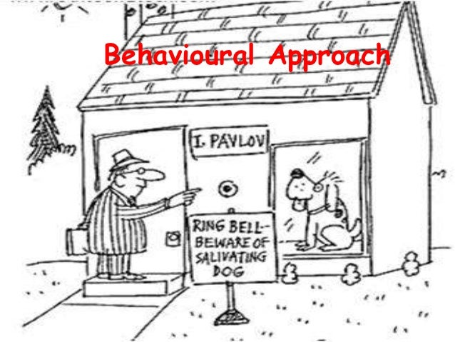 the behavioural approach The behavioural approach introduction both the functional and institutional approaches are useful in analyzing the existing marketing activities however, the.