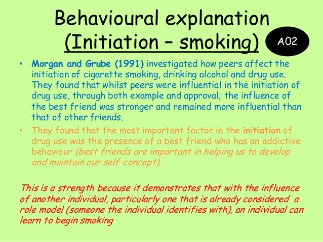 smoking cigarettes operant conditioning For instance, the act of repeatedly smoking a cigarette conditions the smoker to expect specific results via operant conditioning this would include smoking because s/he expects to experience the buzz or high associated with cigarette use (ie, positive reinforcement) as well as smoking to reduce negative affect or alleviate.