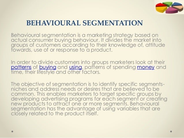 marketing concepts and segmentation