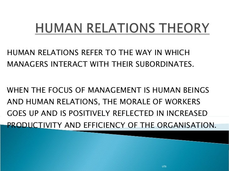 elton mayor theories of management Korajczyk, ronald william, the human relations approach and its critics (1961) brief statement of elton mayo's accornplish management to obtain the maximum efficiency trom equipment and labor.