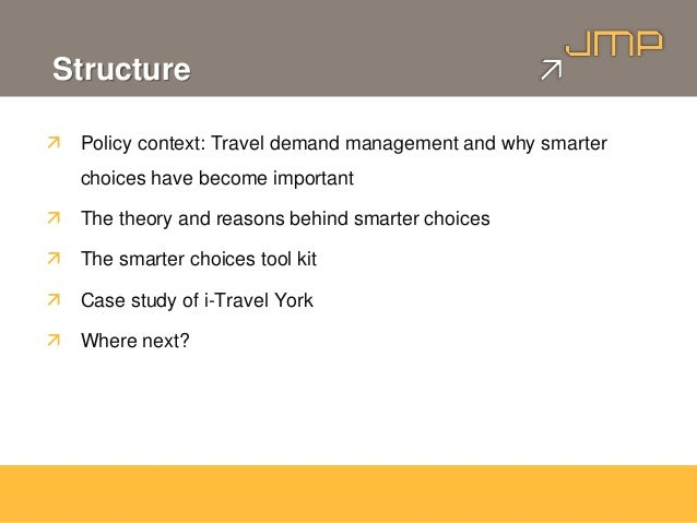 Behaviour Change - Smarter Choices Theory and Practice Slide 2