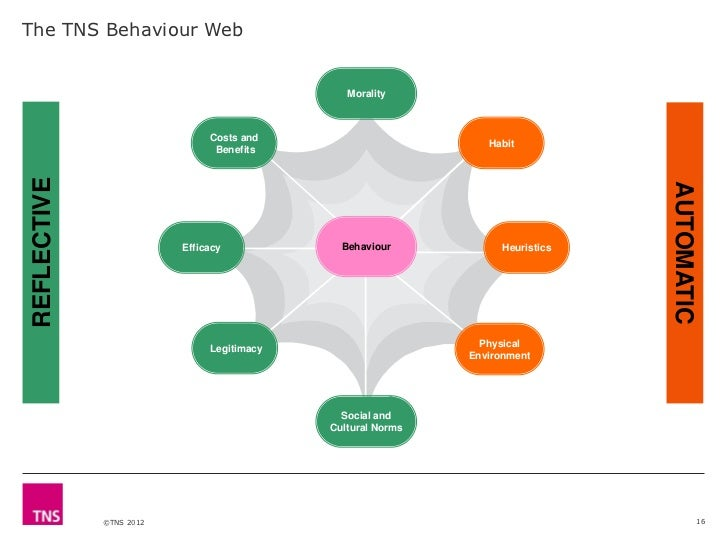 The TNS Behaviour Web                                              Morality                              Costs and        ...