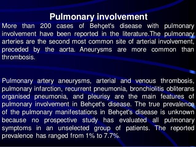 Behçet's syndrome: a case study - PubMed Central (PMC)