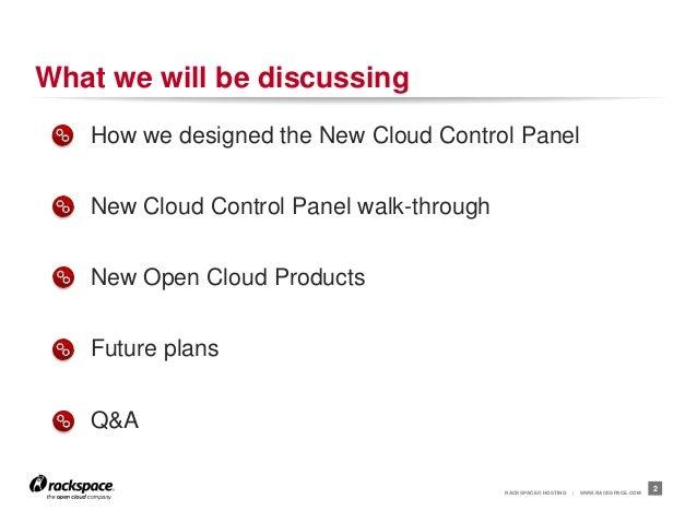 Behind The Scenes:  New Rackspace Cloud Control Panel
