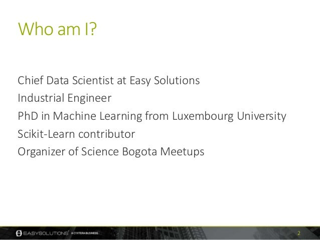 How I Learned to Stop Worrying and Love Building Data Products Slide 2