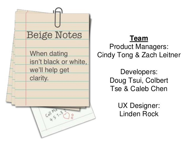 Team Product Managers: Cindy Tong & Zach Leitner Developers: Doug Tsui, Colbert Tse & Caleb Chen UX Designer: Linden Rock