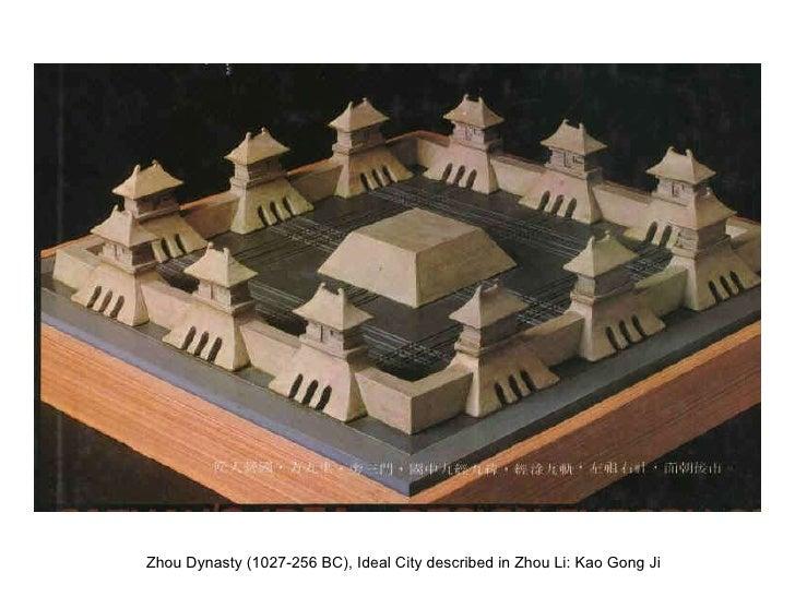 Die chinesische Stadt - Merkmale und Stadtentwicklung