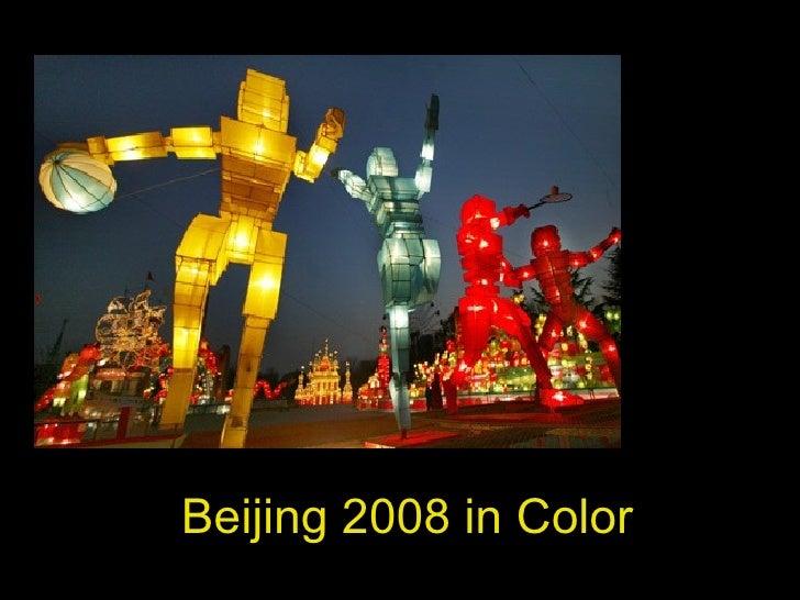 Beijing 2008 in Color