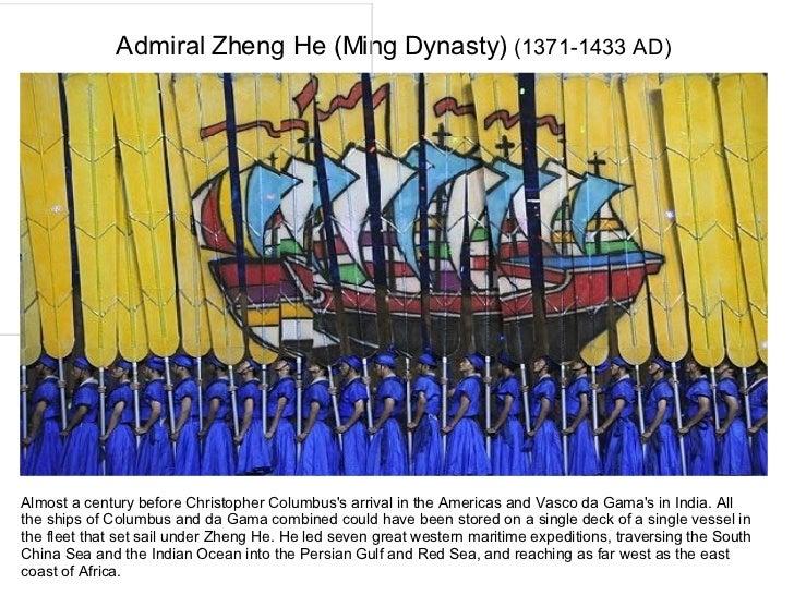 zheng he or christopher columbus