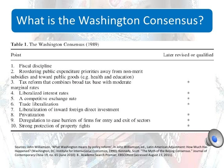 is the washington consensus a help Learning, reading, note taking, writing—is worth your while there are, of course, some chapter 3 introduces the ski.