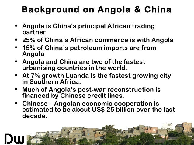 Beijing Forum 2011: Urban Development In Post-Conflict Angola