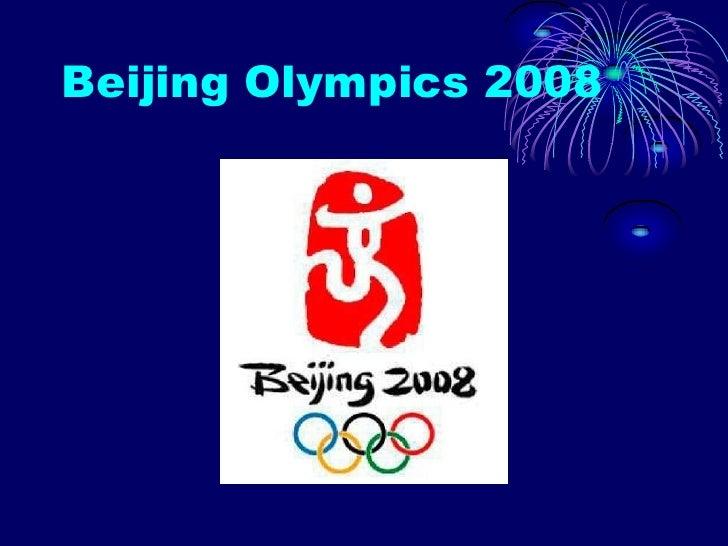 Beijing Olympics 2008<br />