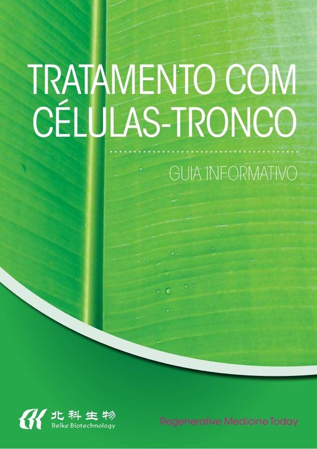 Regenerative Medicine Today Tratamento com Células-Tronco Guia Informativo
