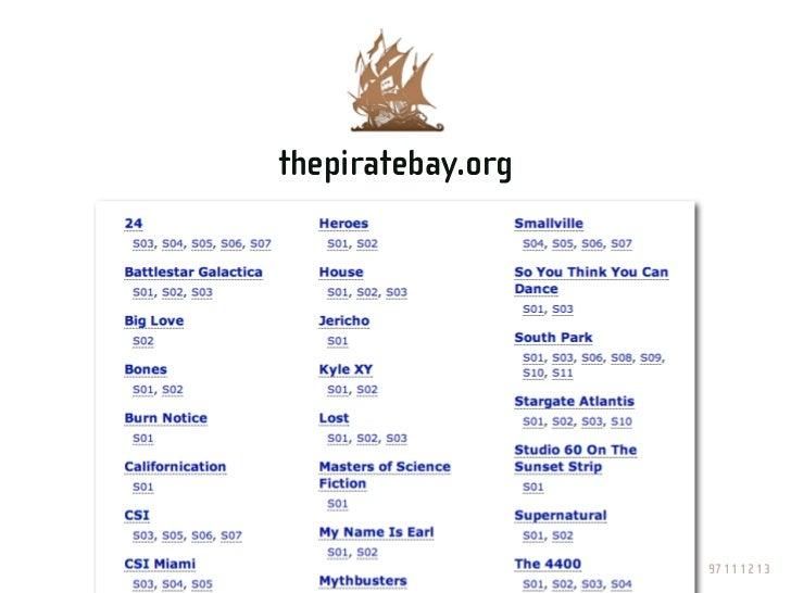 """thepiratebay.org    """"Yes, sir?""""                       97 11 12 13"""