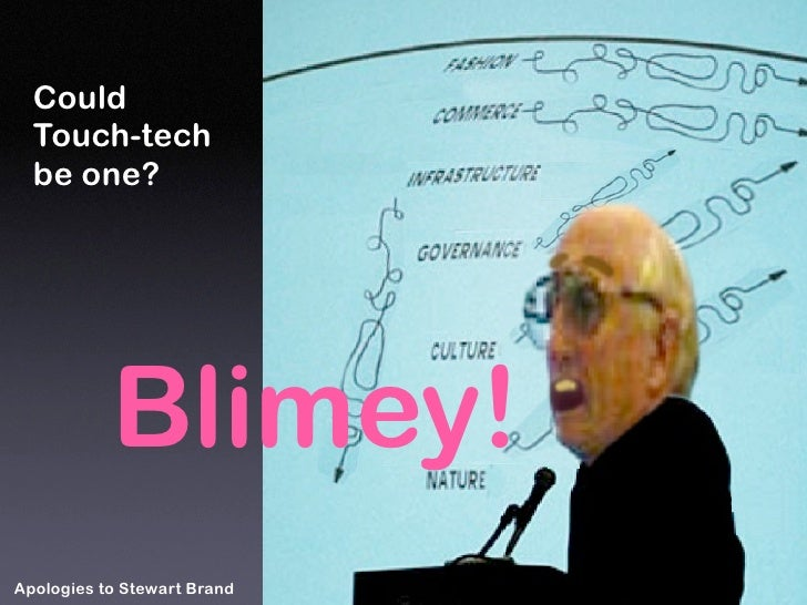Could   Touch-tech   be one?                Blimey! Apologies to Stewart Brand