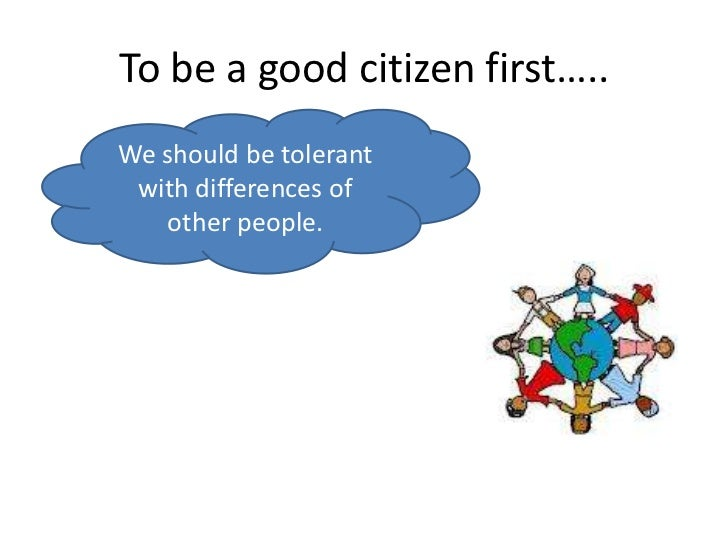 What Does It Mean to Be a Good Citizen?