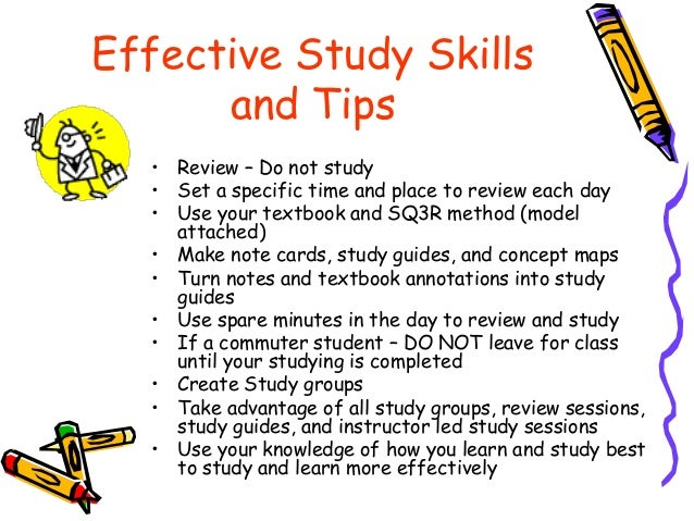 Study Skills Guide: Study Tips, Strategies & Lessons for ...