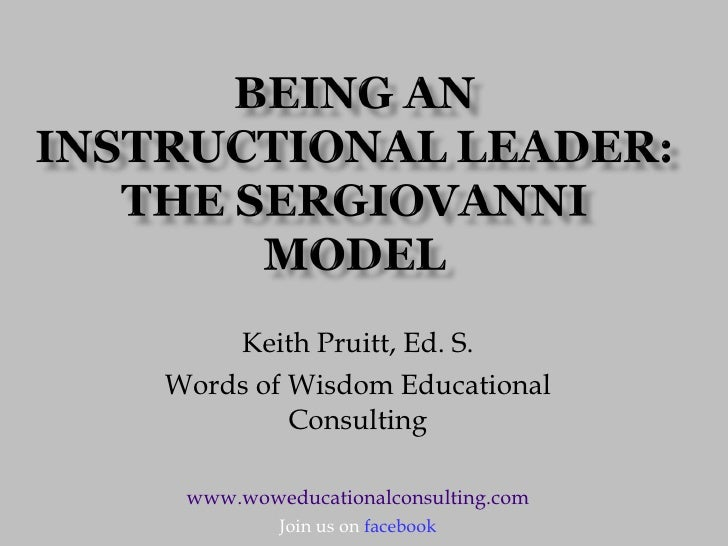 Keith Pruitt, Ed. S. Words of Wisdom Educational Consulting www.woweducationalconsulting.com Join us on  facebook