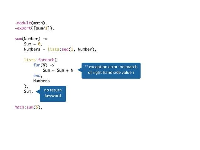 Imperative<?php $sum = 0; for ($i = 1; $i <= 5; $i++) { $sum = $sum + $i; } iteration keeps changing