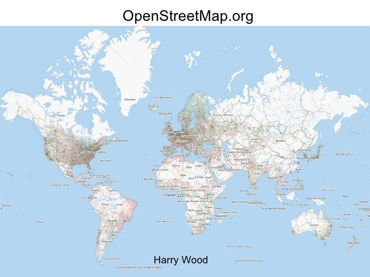OpenStreetMap.org Harry Wood