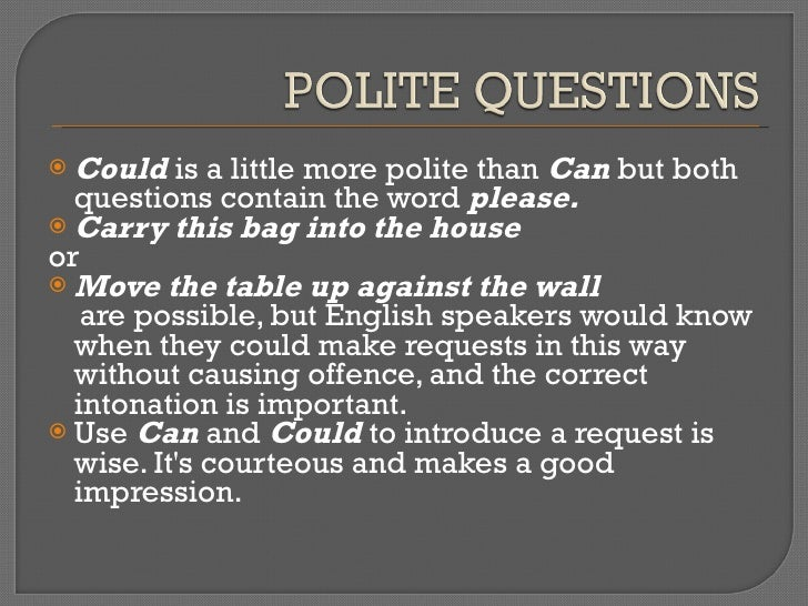 why is being polite important