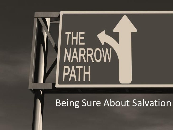 Being Sure About Salvation