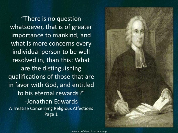 religious affections edwards jonathan