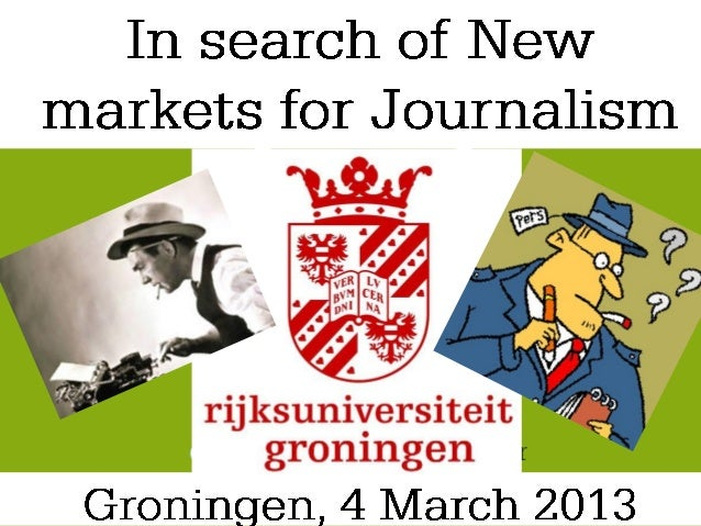 The fields of Journalismare turned upside down         From a walled         garden…            …to an open            gre...
