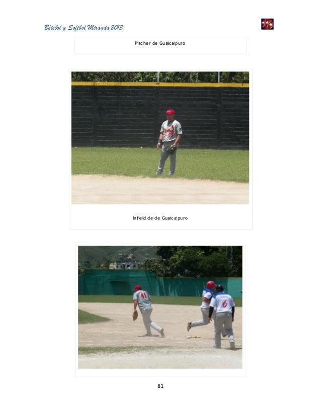 Béisbol y Softbol Miranda 2013