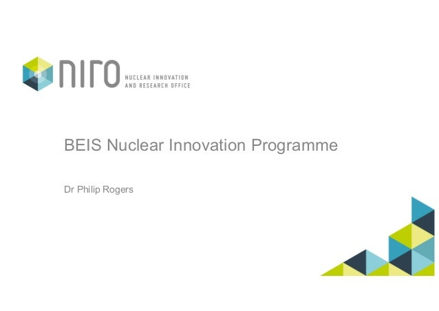 BEIS Nuclear Innovation Programme Dr Philip Rogers
