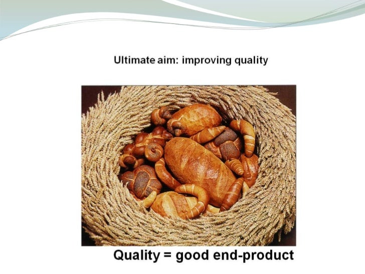 Estimating dough properties and end-product quality from flour composition Slide 2