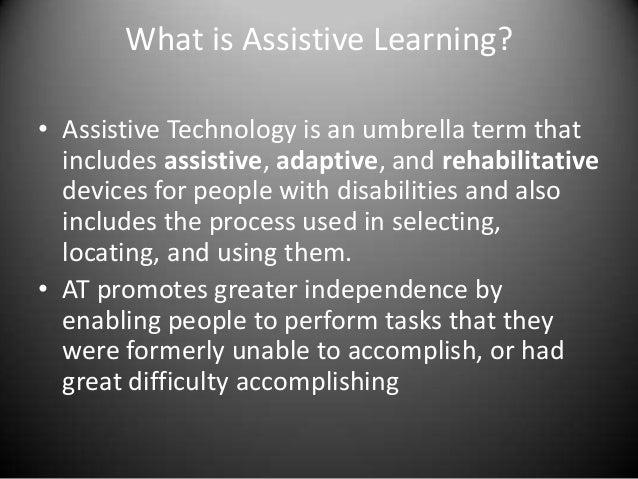 Assistive Technology Presentation Slide 2
