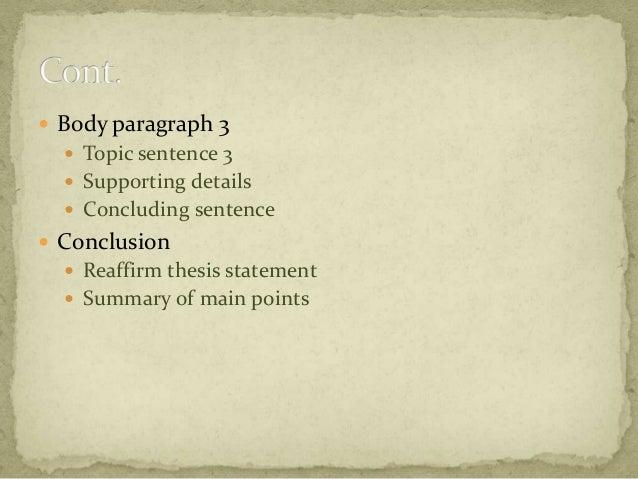 example essay bel260